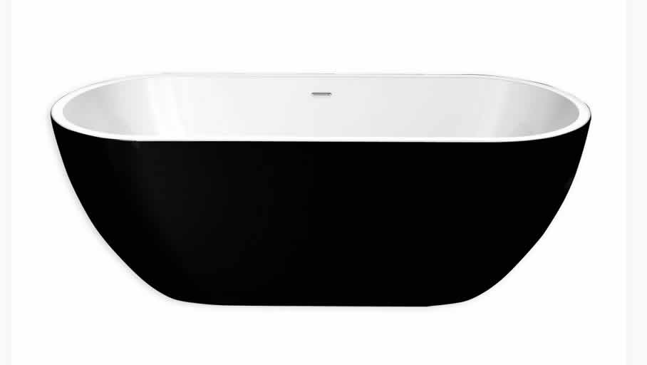 Freestanding Baths   BAY 1700 Black