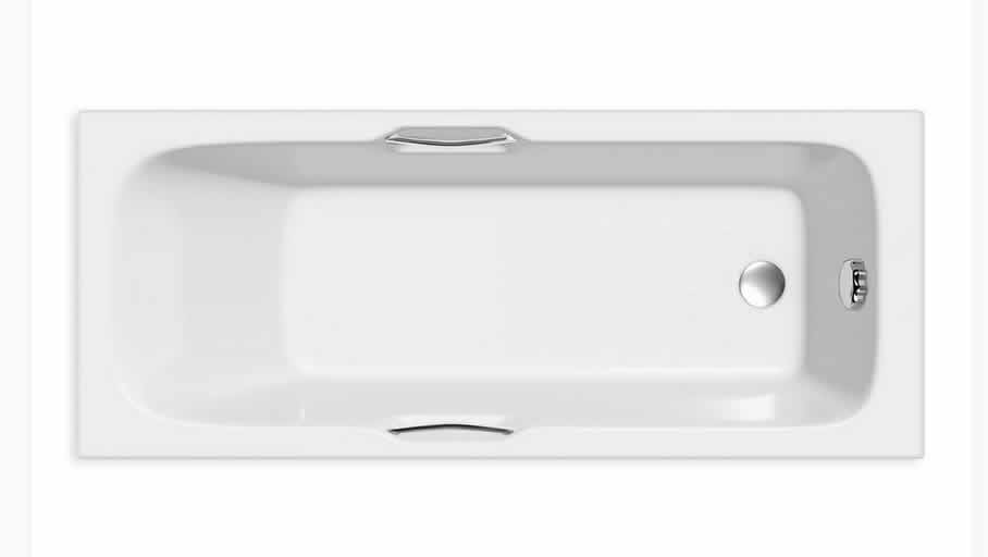 Standard Baths   Adare Twin Grip Bath