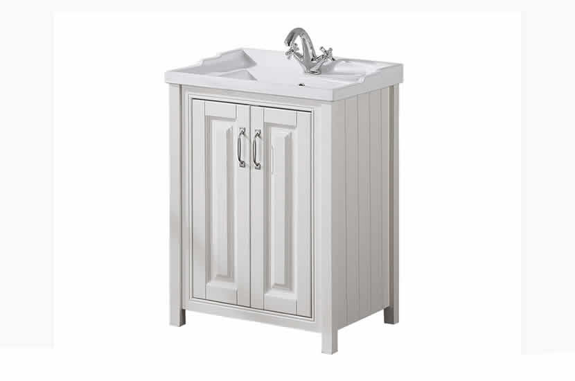 Cottage 600mm Vanity Unit Ivory