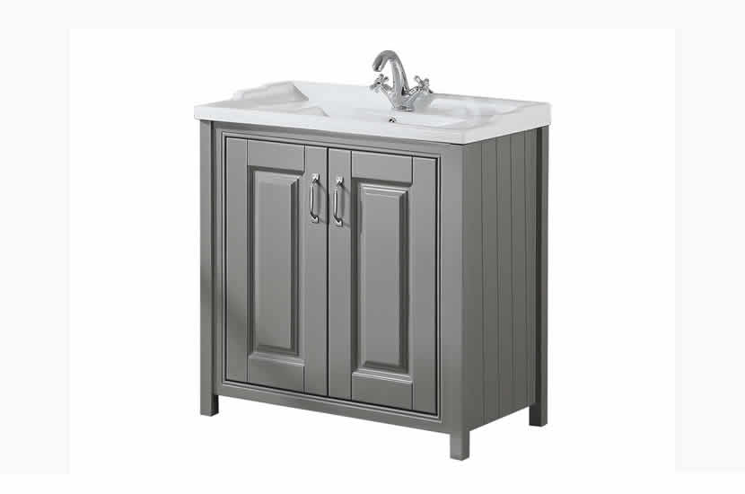 Cottage Stone Grey 800mm Vanity Unit