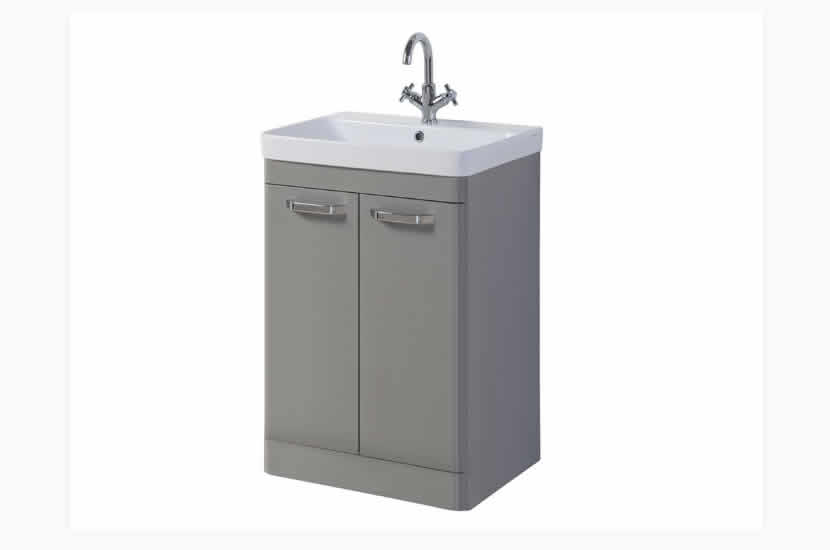 Dante 500mm 2 Door Grey