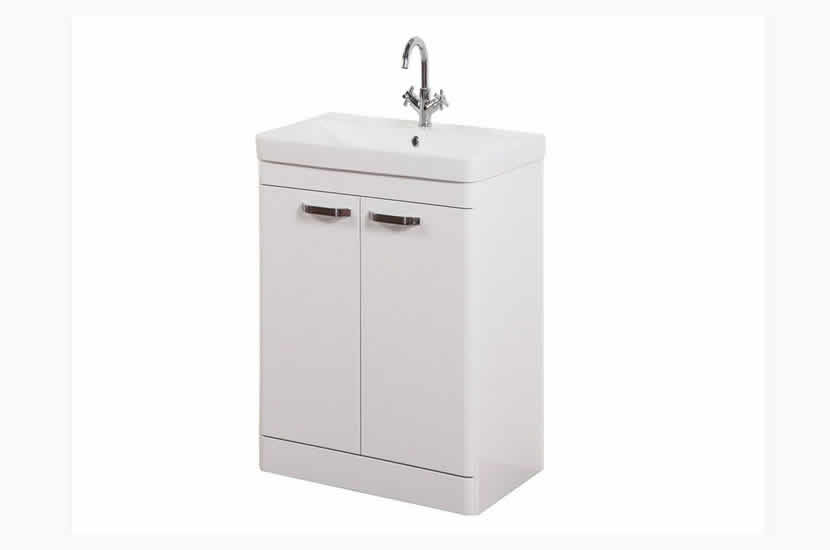 Dante 500mm 2 Door White