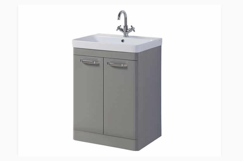 Dante 600mm 2 Door Grey