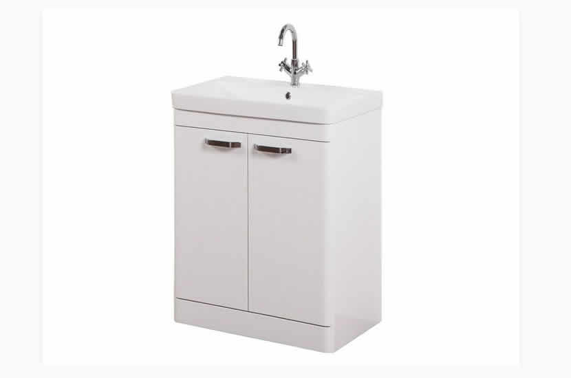 Dante 600mm 2 Door White