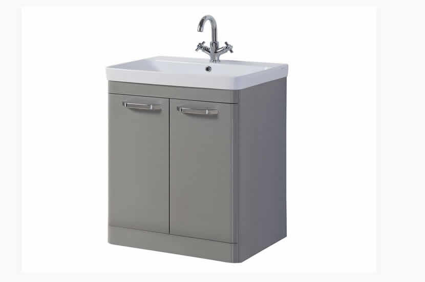 Dante 800mm 2 Door Grey