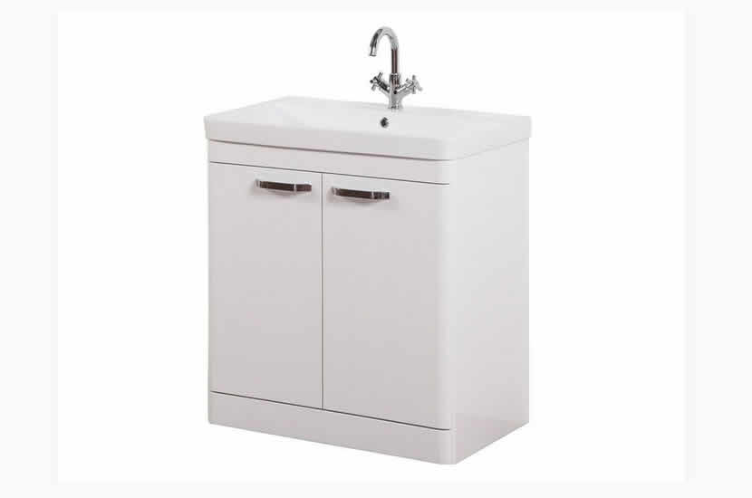 Dante 800mm 2 Door White