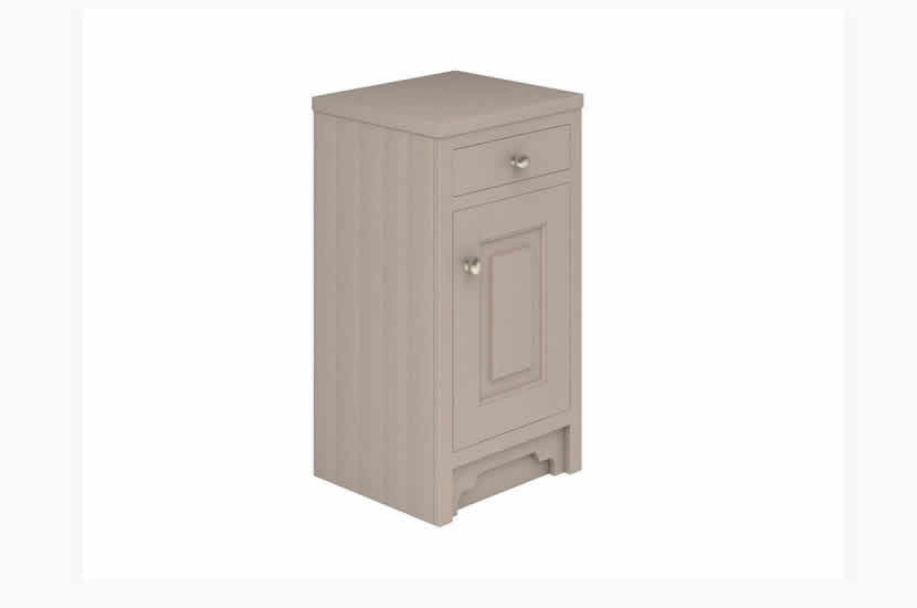 Greenwich Door Drawer Unit Stone Grey Ash