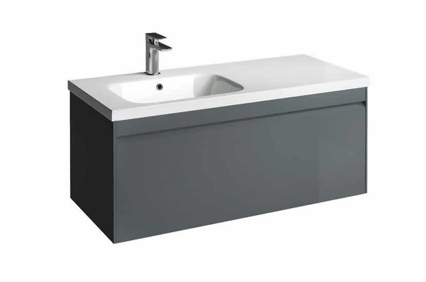 Hampton 1000mm Unit Anthracite