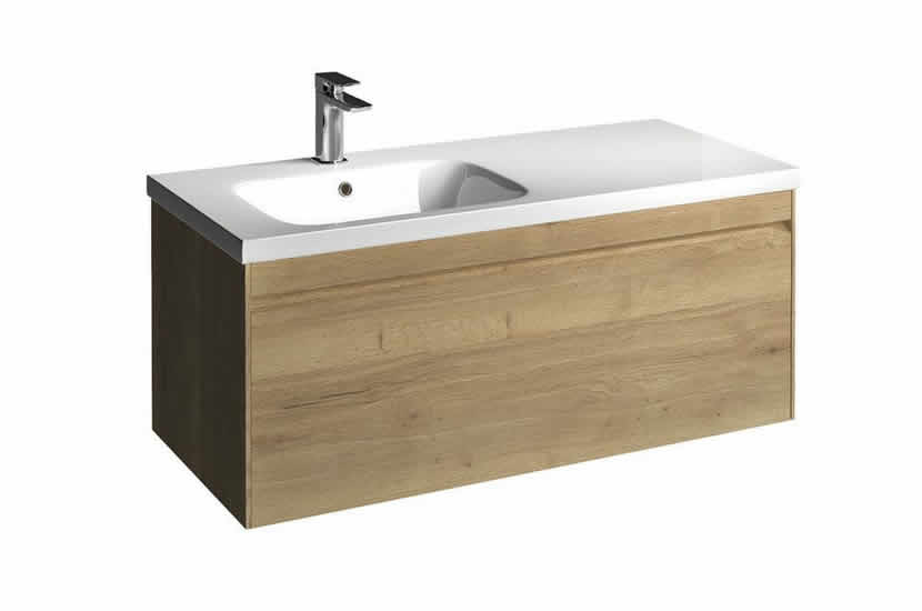 Hampton 1000mm Unit Oak