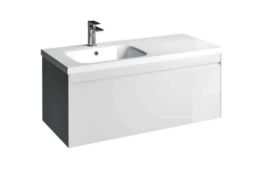 Hampton 1000mm Unit White