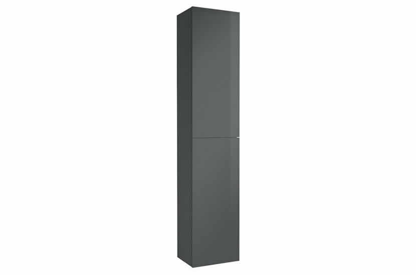 Hampton 2 Door Tall Boy Anthracite