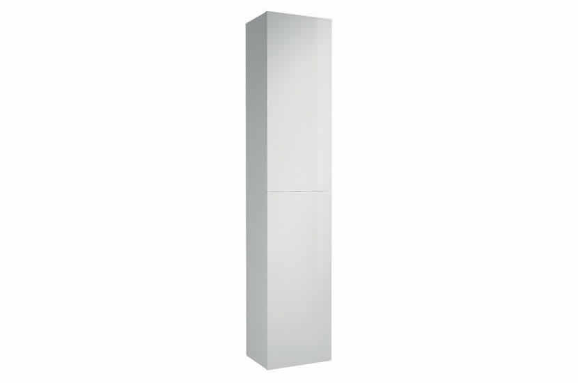 Hampton 2 Door Tall Boy White