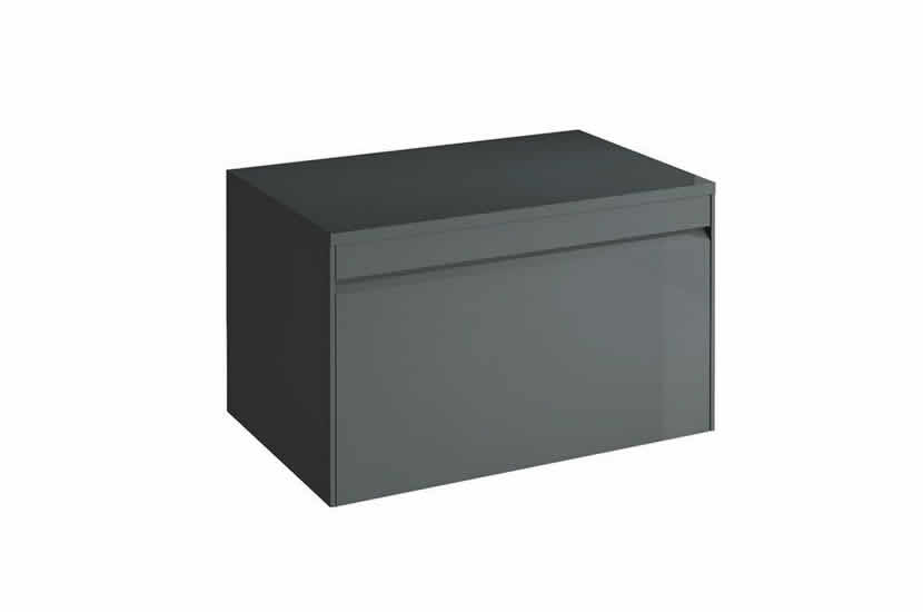 Hampton 700mm 1 Drawer Worktop Anthracite