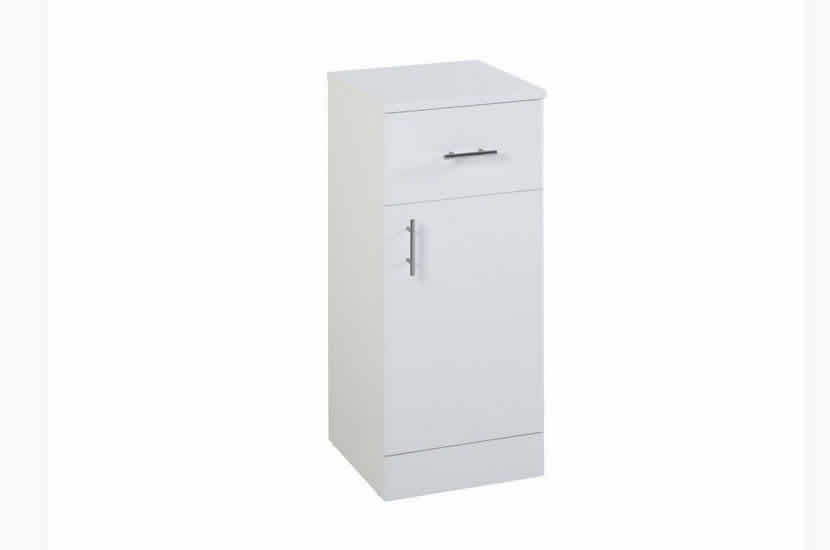Joy White Drawer Unit