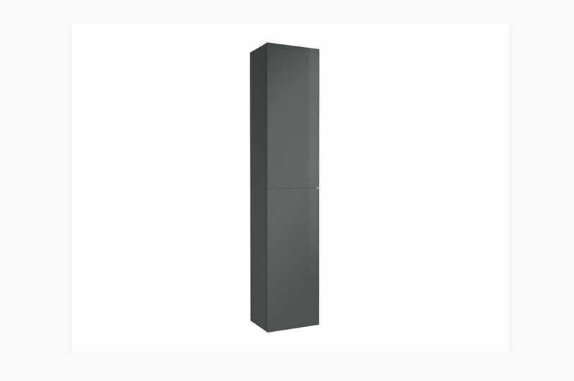 Madison 2 Door Tall Boy Anthracite