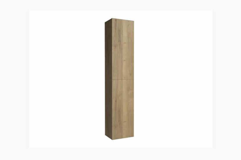 Madison 2 Door Tall Boy Oak