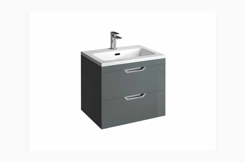 Madison 600mm 2 Door Lounge Basin Anthracite