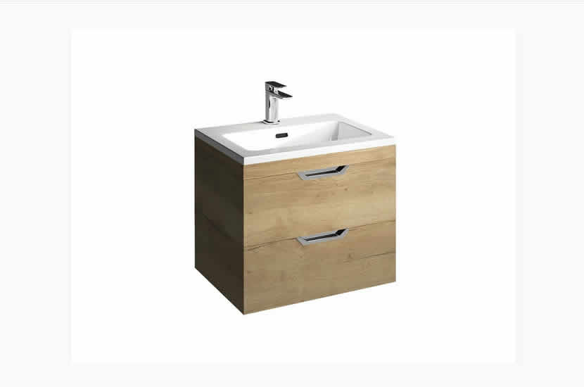 Madison 600mm 2 Door Lounge Basin Oak