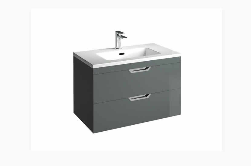 Madison 800mm 2 Door Lounge Basin Anthracite