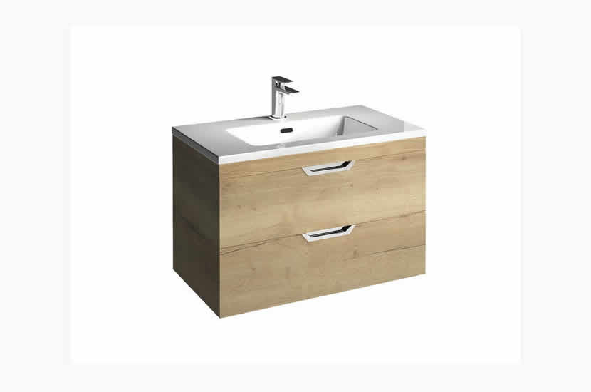 Madison 800mm 2 Door Lounge Basin Oak