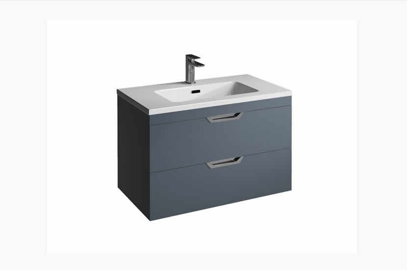 Madison 800mm 2 Door Lounge Basin Sapphire