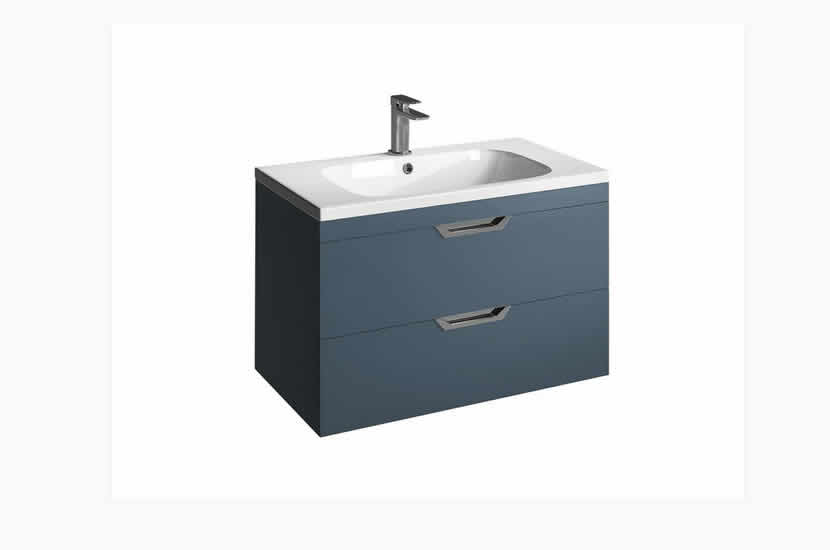 Madison 800mm 2 Door Orca Basin Sapphire