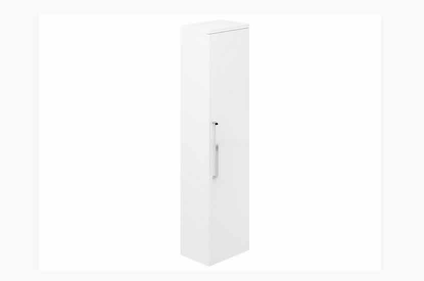 Naples Tall Boy White Gloss