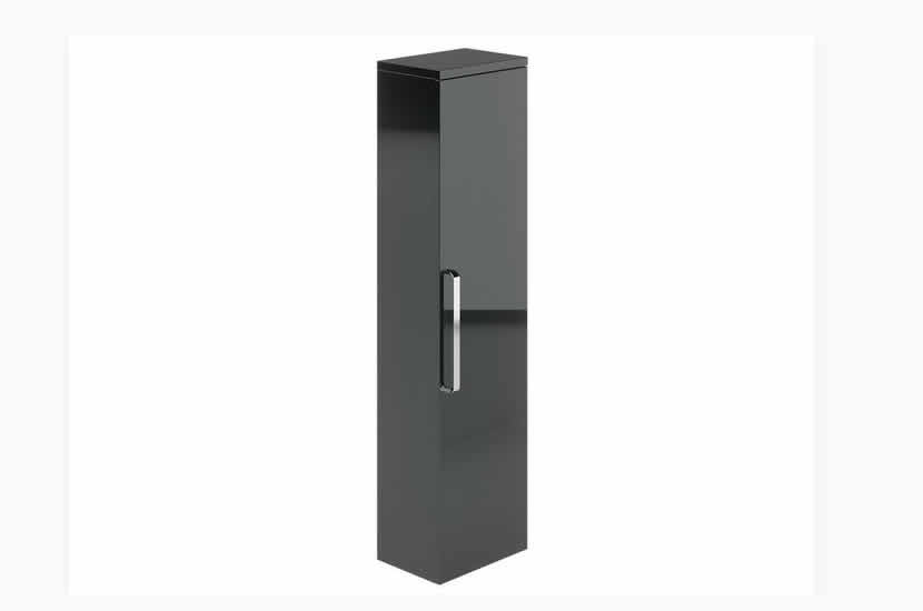 Ravello Tallboy Grey Gloss