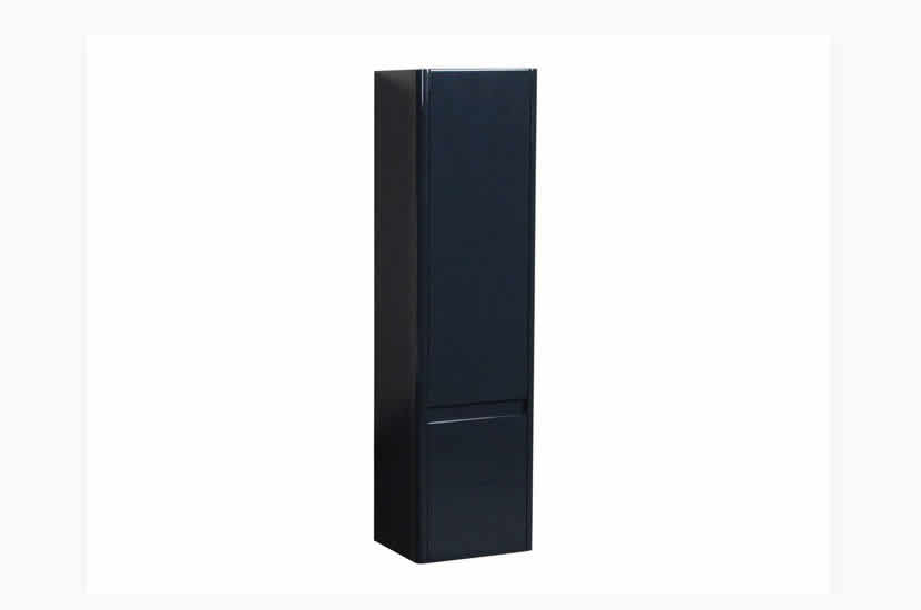 Riva Curve Tall Unit Anthracite