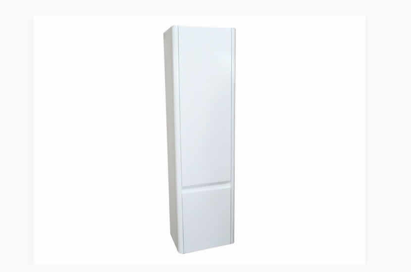 Riva Curve Tall Unit White