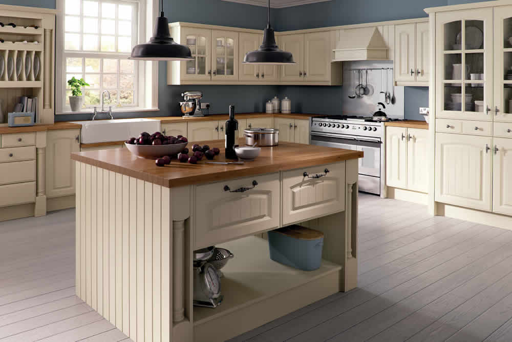 Bella Ivory Westbury Kitchen
