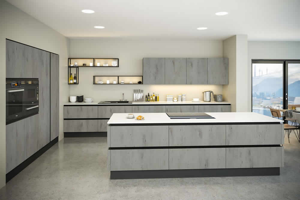 Bella London Concrete Venice Kitchen