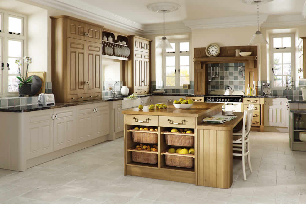 Bella Matt Cashmere Odessa Oak Broadway Kitchen Kitchen
