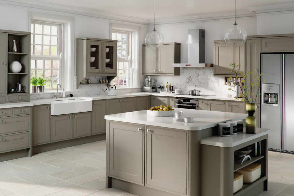 Bella Matt Stone Grey Tullymore Kitchen