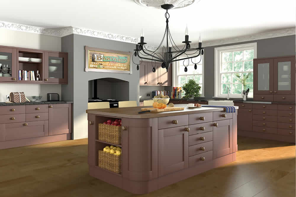 Bella Paintable Shaker Kitchen 2
