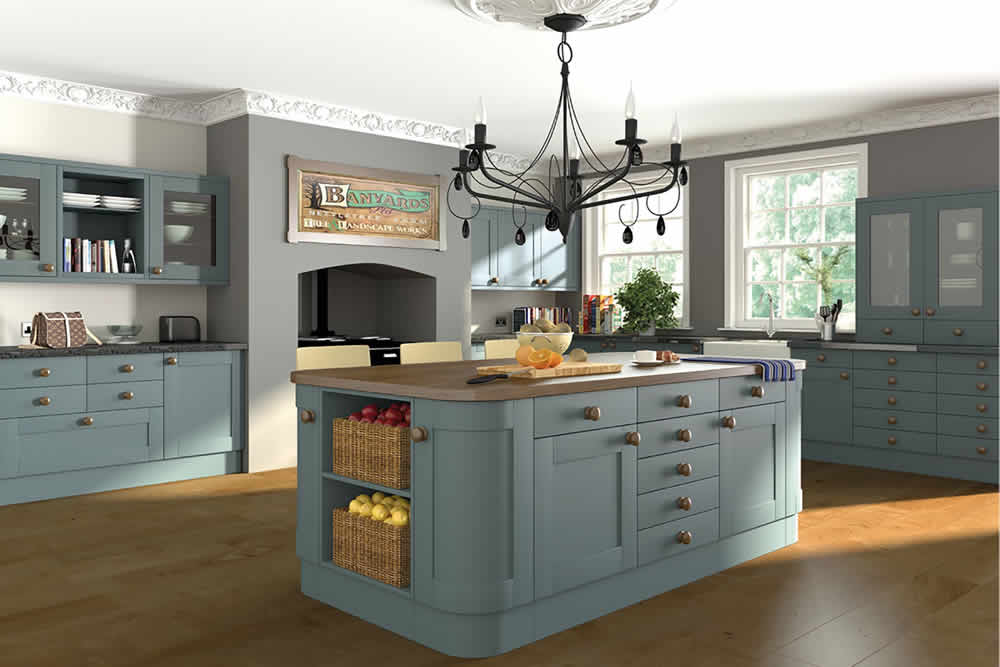 Bella Paintable Shaker Kitchen 3
