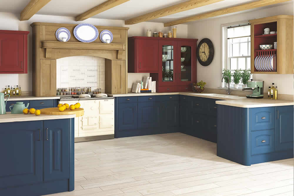 Bella Paintable Verona Kitchen