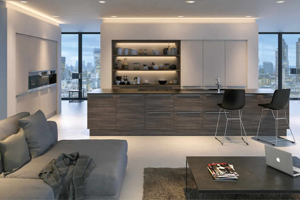 Valore Mali Wenge Cashmere Kitchen